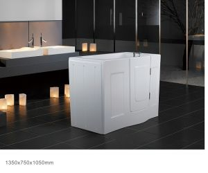 Freestanding Walk-in Bathtub for Old People and Disabled People (BNG1002A)