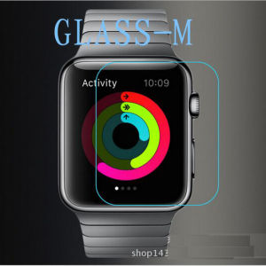 Factory Wholesale Tempered Glass Stickers for Apple Watch pictures & photos
