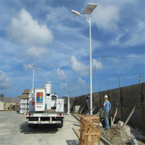Double Arms LED Solar Street Light with 5 Years Warranty pictures & photos