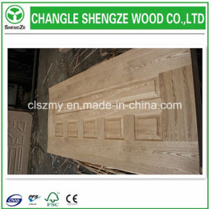 Veneered HDF Mould Door Skin pictures & photos