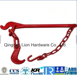 G80 G70 Alloy Steel Chain Fastener Spring Lashing Lever /Drop Forged Load Binder/ Tension Lever with Certificate pictures & photos