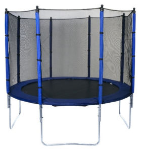 Sld 10FT Round Blue Trampoline with Safety Net Sport Trampoline pictures & photos