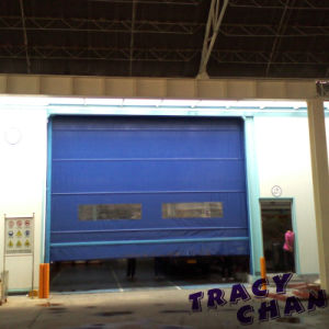 High Quality Fast Rolling Sensor Door pictures & photos