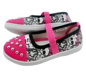 Brand Children Canvas Shoes Slipper (SLS17-G17) pictures & photos