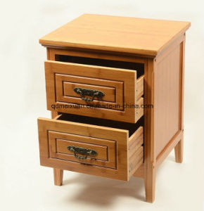 Modern Rural Nanzhu Bedroom Furniture Bedside Table Bamboo Storage to Receive Ark (M-X3428) pictures & photos