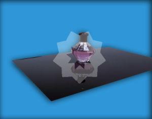 Black Color Anodized Mirror Aluminium Reflective Sheet (A6600.17)