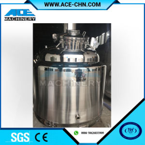 100L Sanitary Stainless Steel Cosmetics Mixing Tank pictures & photos