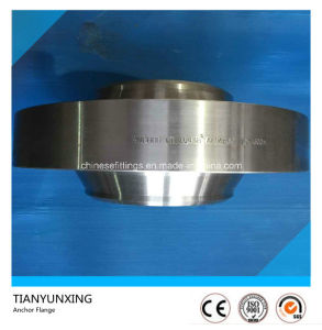 600# A694 F60 API Pipe Line Steel Anchor Flanges pictures & photos