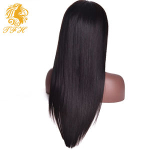 7A Frontal Lace Human Hair Wigs Brazilian Virgin Hair Straight pictures & photos