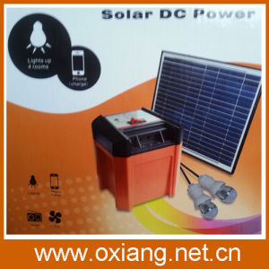 DC Portable Solar Generator with 8W Solar Panel pictures & photos