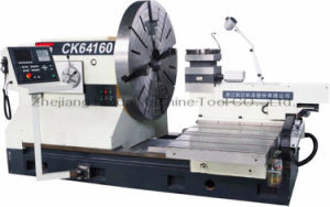 China Big Bore and Heavy Duty CNC Lathe Machine Ck-64160 pictures & photos