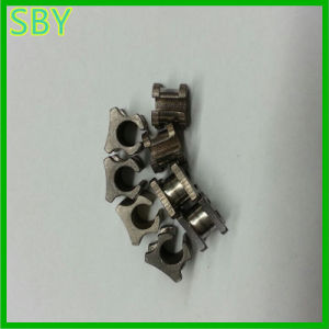 Titanium Guide Sleeve CNC Machining Parts From Factory (P032) pictures & photos