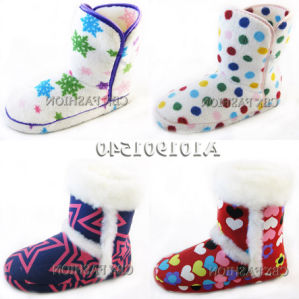 Fashion Flat Heel Soft Winter Indoors Home Shoes A101901540