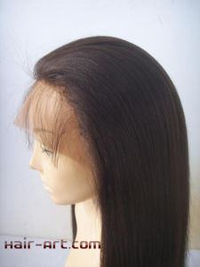 "in Stock Full Lace Malaysian Virgin Hair Wigs - 16"" pictures & photos"
