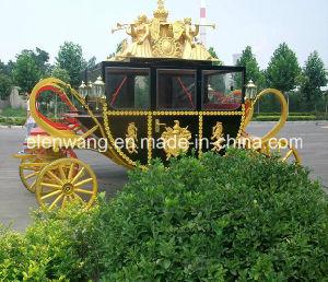 Wedding Royal Horse Cart Horse Carriage (GW-HC25) pictures & photos