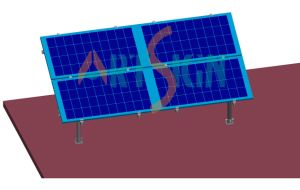 Terrace Ground Solar Mounting Systems pictures & photos