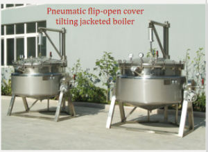 Jacketed Kettle Jacket Kettle Stainless Kettle Steam Kettle pictures & photos
