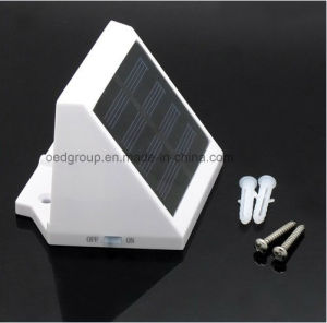 ABS Body Material LED Light Source LED Solar Panel Wall Light pictures & photos