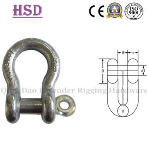 JIS Bow Type Shackle, E. Galvanized pictures & photos