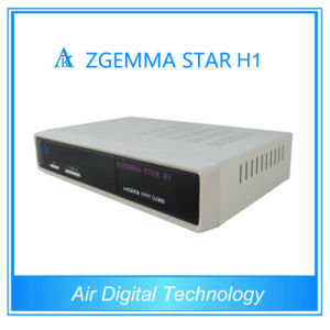 Zgemma-Star H1 Satellite Receiver No Dish Dvbs2+C Satellite Receiver pictures & photos