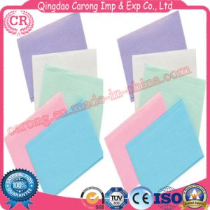 High Quality Multi Colors Waterproof Patient Dental Bibs pictures & photos