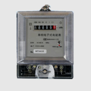 Digital Electronic Energy Meter for Bi-Directional Active Energy Measurement pictures & photos