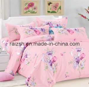 2015 New Design Flower Reactive Printing Bedding Sets