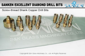 Screw-Thread Shank Copper Drill Bits pictures & photos