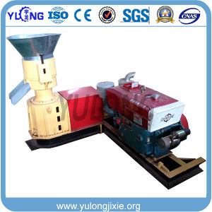 Flat Die Diesel Pellet Mill for Animal Feed and Sawdust pictures & photos