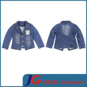 Factory Wholesale Kid Denim Jacket (JT8019) pictures & photos