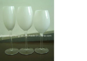White Color Wine Glass Cup (B-WG028) pictures & photos