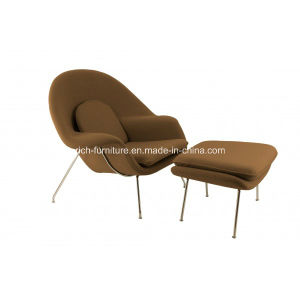 New Replica Eero Saarinen Womb Chair and Ottoman Womb Chair Manufacturer pictures & photos