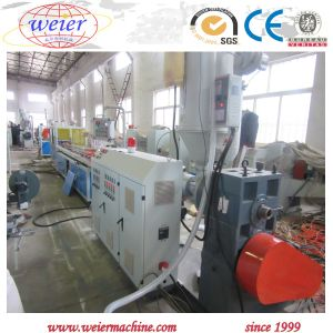 Economical WPC PVC Wood Powder Composite Profile Extruding Machine with Single Screw pictures & photos