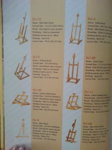 Easel, Wooden Easel pictures & photos