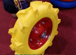 PU Flat Free Foam Wheel for Wheel Barrow pictures & photos