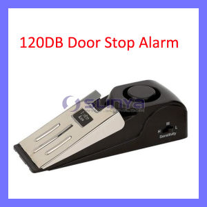 120 dB Security Home Wedge Shaped Door Stop Alarm Block System Gate Resistance (SL-333) pictures & photos