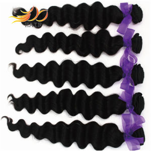 100% Virgin Human Hair Weave Loose Deep Cambodian Hair Extension pictures & photos