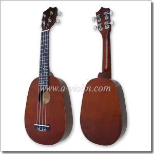 "Wholesale 21"" Pineapple Style Wooden Soprano Ukulele (AU01R-P) pictures & photos"