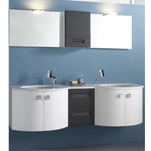 Modern PVC Bathroom Cabinet with Certificate pictures & photos
