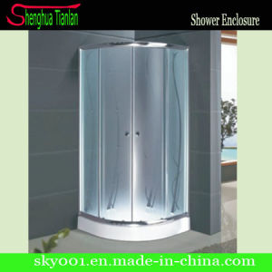 Quadrant Frosted Glasssliding Door Low Tray Shower Cubicle (TL-528) pictures & photos