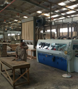 Heavy Duty High Performance 6 Spindles 4 Side Moulder Four Side Planer pictures & photos