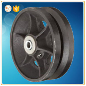 Gray Iron Casting V-Groove Wheel pictures & photos