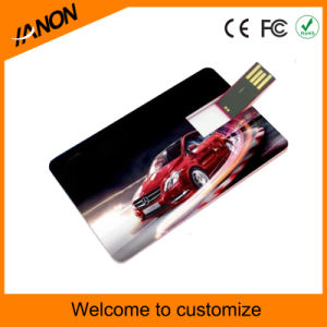 Classical Model Plastic Card USB Flash Drive with Printing pictures & photos