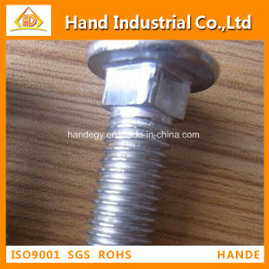 """Stainless Steel Top Quality A4-80 5/8"""" Guardrail Bolt pictures & photos"""