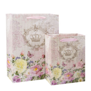 Elegant Shopping Promotional Paper Large Bags with Logo Printing pictures & photos