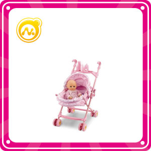 14 Inch Boy Doll Iron Cart Doll Set