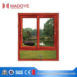 PVC Sliding Window with Toughened Glass for Kitchen pictures & photos