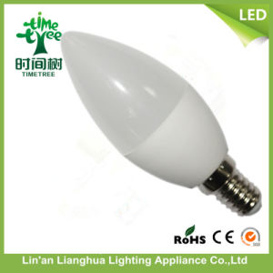 6W E14 6500k LED Candle Light Bulb pictures & photos
