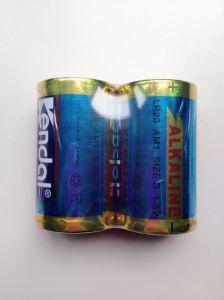 2PCS 1.5V Shrink Alkaline Battery Lr20 D pictures & photos