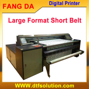 Digital Reactive Ink Printer for Fabric Roll to Roll Printing pictures & photos